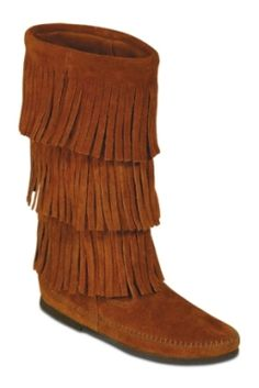 Minnetonka Mens and Womens Fringe Boots at Minnetonka Moccasins, Womens Shoes, Gifts, and Great Toys