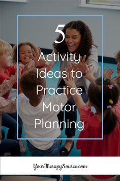 Looking to keep those kiddos engaged and learning? Here are five free and easy ideas to practice motor planning in the classoom or at home! Motor Planning, Move Your Body, Free Activities, Therapy, Challenges, How To Plan, Learning, Easy, Studying