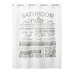 Shower Curtains You'll Love in 2020 | Wayfair Bathroom Rules, White Bathroom, Bathroom Ideas, Boho Bathroom, Family Bathroom, Basement Bathroom, Bathroom Windows, Bathroom Plants, Bathroom Colors
