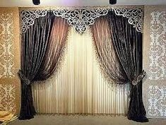 10 Stunning Diy Ideas: False Ceiling Details Spaces false ceiling design with wood.Contemporary False Ceiling Couch false ceiling design for porch. Luxury Curtains, Elegant Curtains, Home Curtains, Modern Curtains, Colorful Curtains, False Ceiling Living Room, Home Ceiling, Ceiling Tiles, Ceiling Lights
