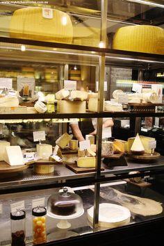 Jones the Grocer cheese cabinet