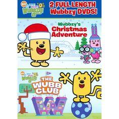 Wow! Wow! Wubbzy!: Wubbzy's Christmas Adventure/The Wubb Club (2 Discs) (dvd_video)