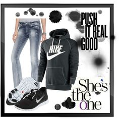 Nike (:, created by lauren-winans on Polyvore