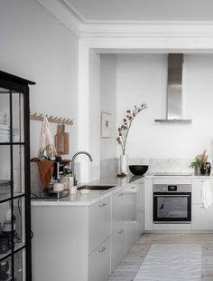 Cozy white home