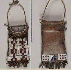 Cheyenne or Arapaho bag, NMNH  ac