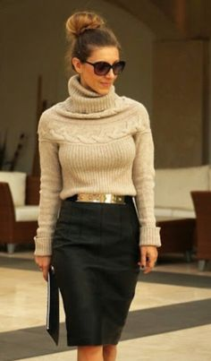 Need this sharp simple look in my life.. #style #fashion #love