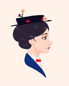 Mary Poppins by Nan