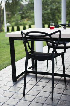 VILLA ILONA: syyskuuta 2015 Wishbone Chair, Table And Chairs, Villa, Outdoor Furniture, Diy, House, Design, Home Decor, Luxury Houses