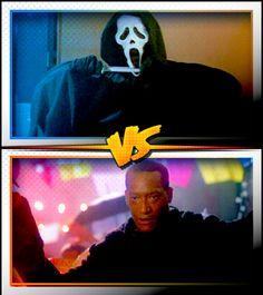 GHOSTFACE versus CANDYMAN ■ http://terror.ca/movies/franchise/rank?f=262&f2=287