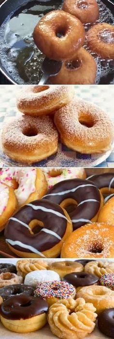 "DONAS muy esponjosas en estufa¡¡ "" By Jenny Salas. Donut Recipes, Mexican Food Recipes, Sweet Recipes, Cake Recipes, Dessert Recipes, Cooking Recipes, Pan Dulce, Food Humor, Beignets"
