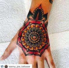 """Beautiful handala by Sonny Joe ! To get booked in with Sonny email """"skinsandneedles@live.co.uk""""!   #tattoo #tattooart #tattooartist #tattooer #tattooist #mandala #mandalatattoo #handala #handalatattoo #traditional #traditionaltattoo #tradtattoo #sonnyjoetattooer #skinsandneedles #skinsandneedlestattoo #middlesbrough #teesside  http://goo.gl/OFa3Tr Twitter - skinsnneedles"""