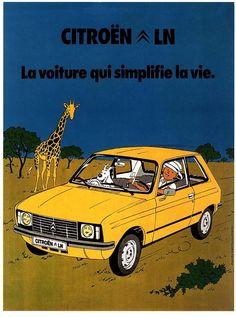 Les Aventures de Tintin :: Citroën LN