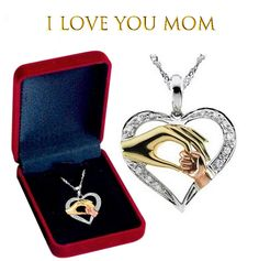 Mothers day gifts Best selling Mothers day gifts 2019 Best Mothers Day Gifts, Gifts For Mom, Best Gifts, Heart Pendant Necklace, Cross Pendant, I Love You Mom, Silver Jewelry, Ebay, Silver Decorations
