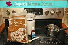 NatSprat: NatSprat's Homemade Maple Syrup