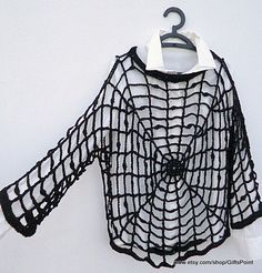Plus Size Halloween Spiderweb Black Widow Spider Halloween Costume Gothic Grunge Rock Unisex Clothes Gothic Unisex Clothes