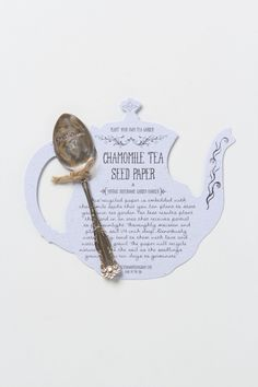 Tea Seed Paper - Anthropologie.com