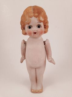 Flapper doll,Porcelain doll, bisque doll, Frozen Charlotte, Betty Boop, googly eyed doll.