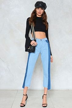 Hold the Line High-Waisted Jeans