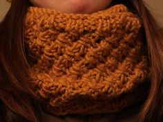 Project Gallery for Ladd Street Cowl pattern by Leslie - bulky or super bulky weight - slipped stitches with diagonal effect - free pattern
