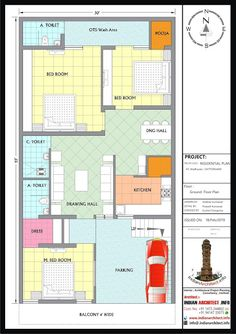 Here is Plan and view of 1650 sqft Modern contemporary Residential Project design By Shekhar Kumawat Clint Name :. Pole Barn House Plans, Cabin House Plans, Duplex House Plans, Family House Plans, Dream House Plans, House Floor Plans, 2bhk House Plan, Model House Plan, House Layout Plans