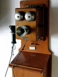 Joy: As people advanced westward, this allowed for bi-coastal communication with the invention of the telephone by Alexander Graham Bell. Vintage Phones, Vintage Telephone, Thinking Of You Today, Phone Charger Holder, Old Boxes, Old Phone, Video Games For Kids, Cloud Computing, Healthy Snacks For Kids