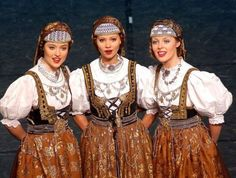 The Polish people are proud of their traditional dress which is a truly symbolic in the Polish culture. They still wear their folk costumes and even in some regions, on daily basis. Polish Clothing, Folk Clothing, Folk Costume, Costumes, Polish People, Polish Folk Art, Folk Dance, Traditional Dresses, Vintage Outfits