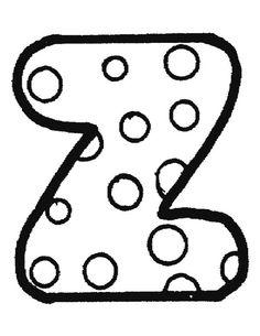 Exercices à imprimer pour les enfants. Alphabet 37