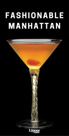 This delicious bourbon cocktail is what happens when a Manhattan and an Old Fashioned hang out together.