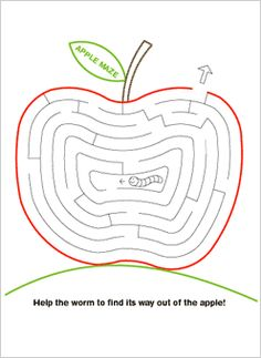 printable mazes easy