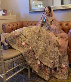 Pakistani Wedding Outfits, Indian Bridal Outfits, Indian Fashion Dresses, Pakistani Dresses, Wedding Dresses, Indian Gowns, Bride Dresses, Wedding Hair, Bridal Lehenga Collection