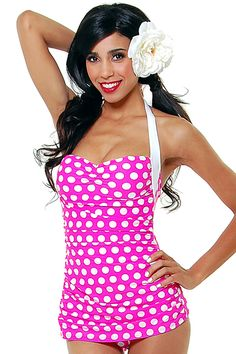 I want this bathing suit so bad!! I have a red one almost exactly like it from the same website. love them!