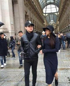 JaDine in Milan 2016 (ctto) Nadine Lustre Fashion, Filipino Girl, James Reid, Couple Outfits, Filipina, Hijab Outfit, Best Couple, Celebrity Couples, Asian Boys