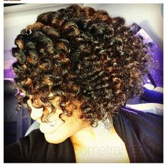 Flat Twist Twist out - Natural Hair Style