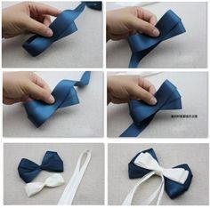 Diy Hair Bows, How To Make Bows, Diy Hairstyles, Hair Band, Art Sketches, Headbands, Hair Styles, Cute, Crafts