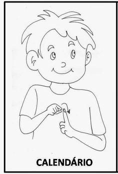 LIBRAS: UMA LÍNGUA QUE SE VÊ.: Meses do ano O Cowboy, Sign Language Book, Disney Characters, Fictional Characters, Cinderella, Disney Princess, Sign Language, Moths Of The Year, Teaching Tips