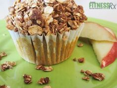 Apple Strudel Breakfast Muffins - A Healthy Start To Your Fall Day