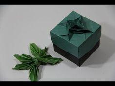 Origami Masu box with tessellation technique - YouTube