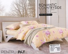 Lenjerie de pat bumbac Casa New Fashion cu bujori si crini Always And Forever, Home Collections, Comforters, Blanket, Bed, Furniture, Home Decor, Horsehair, Creature Comforts