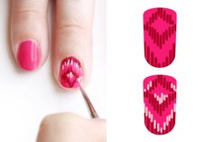 GoingOutChic | Sweet DIY Nail Art