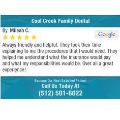 45 Best Cool Creek Family Dental Austin Tx Reviews Images Austin