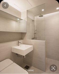 Modern Bathroom Design, Bathroom Interior Design, Baths Interior, Narrow Bathroom, Toilet Design, Small Apartments, Interior Architecture, New Homes, House Design