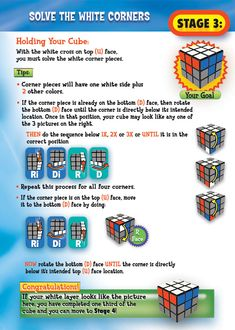 Rubik's 3x3 Solving Guide Stage 3 Page 4