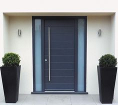 Entrance Doors, Timber Funkyfront Contemporary Entrance Doors