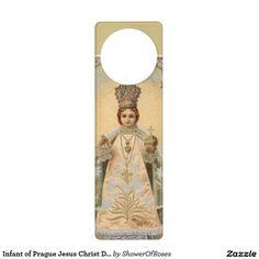 Infant of Prague Jesus Christ Door Hanger