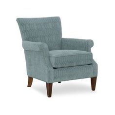 Sam Moore Liam Club Chair Finish: Java, Upholstery: 2239 Linen