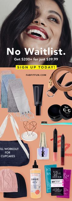 WARNING: FabFitFun is not your basic box! Get $200+ in full-size goodies for just $39.99 w/code EXTRA ❤️ The Fall box just sold out, but the new box is even better!