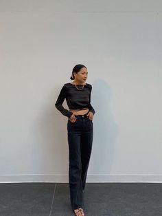 12 Fall Date-Night Outfits You'll Love | Who What Wear Fall Dates, Suit Fashion, Night Outfits, Who What Wear, Going Out, Black Jeans, Normcore, Street Style, How To Wear