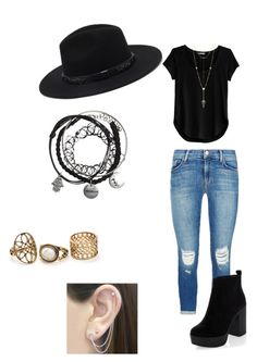 Untitled #1 by borth1227 on Polyvore featuring polyvore fashion style Cosabella J Brand New Look Otis Jaxon House of Harlow 1960 Forever 21 clothing