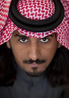 Saudi man - Saudi Arabia by Eric Lafforgue,