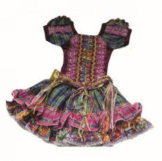 look vestido de quadrilha junina